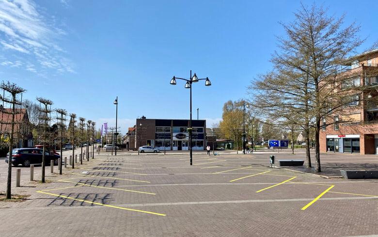 Marktplein wijk aalburg